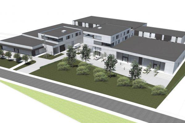 Te Huur: Beringen – kantoorruimten en/of toonzaal (nieuwbouwproject)